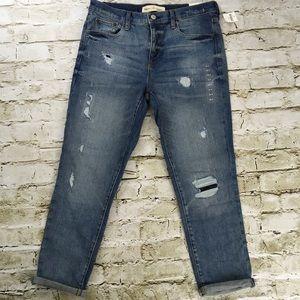 Gap best girlfriend destroyed distressed jeans 6